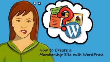 How to create a membership site with WordPress