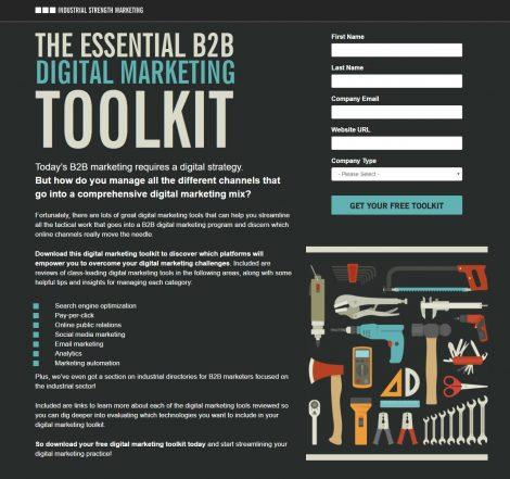 Digital marketing toolkit