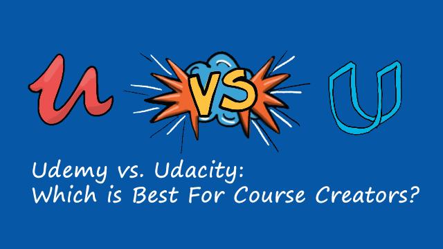 Udemy vs Udacity -